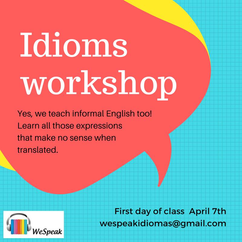 Idioms workshop