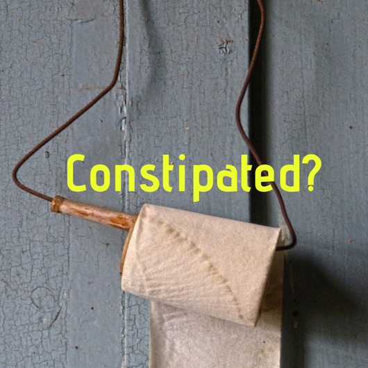 constipated