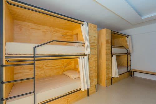 hostel bedroom
